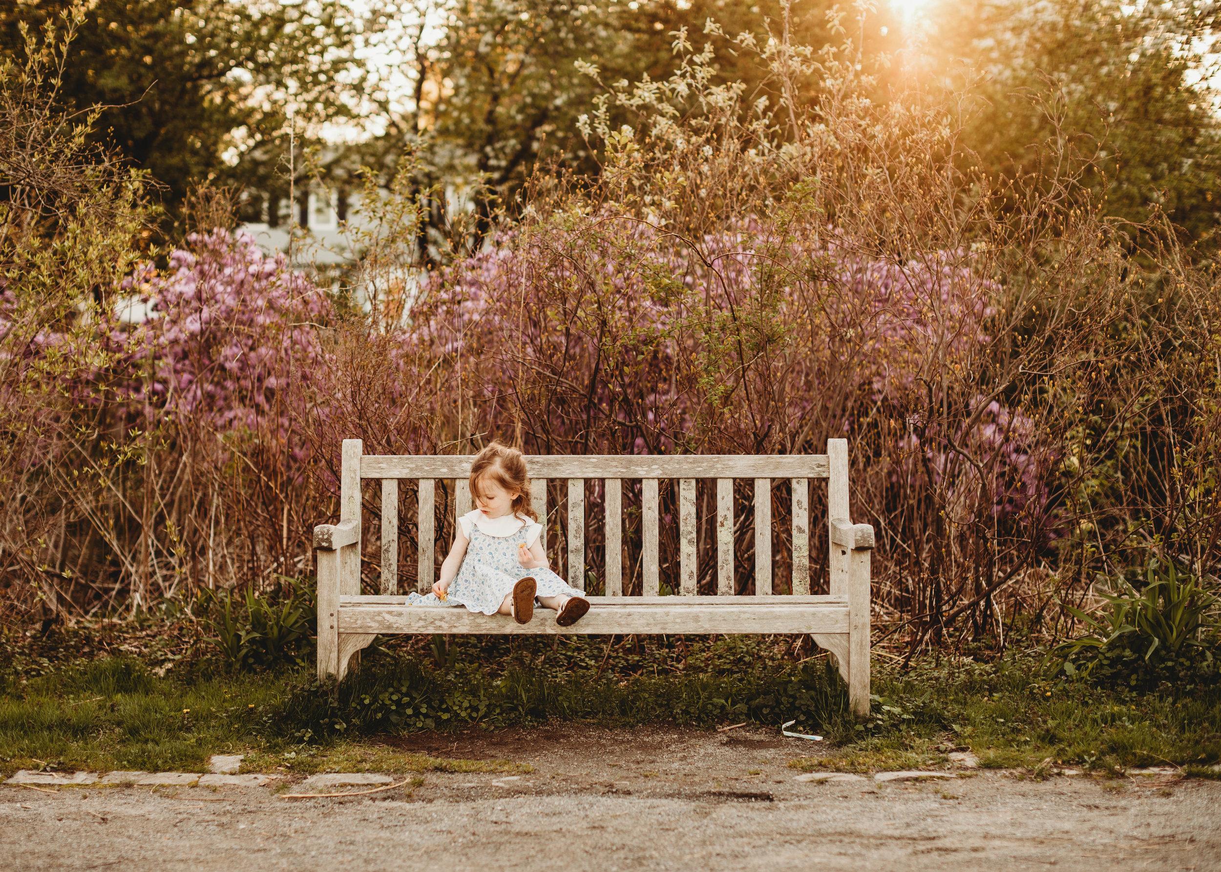 Capturing all the sweet springtime light. Cousins photo shoot. Golden hour at Acton Arboretum. Greater Boston photographer Joy LeDuc.