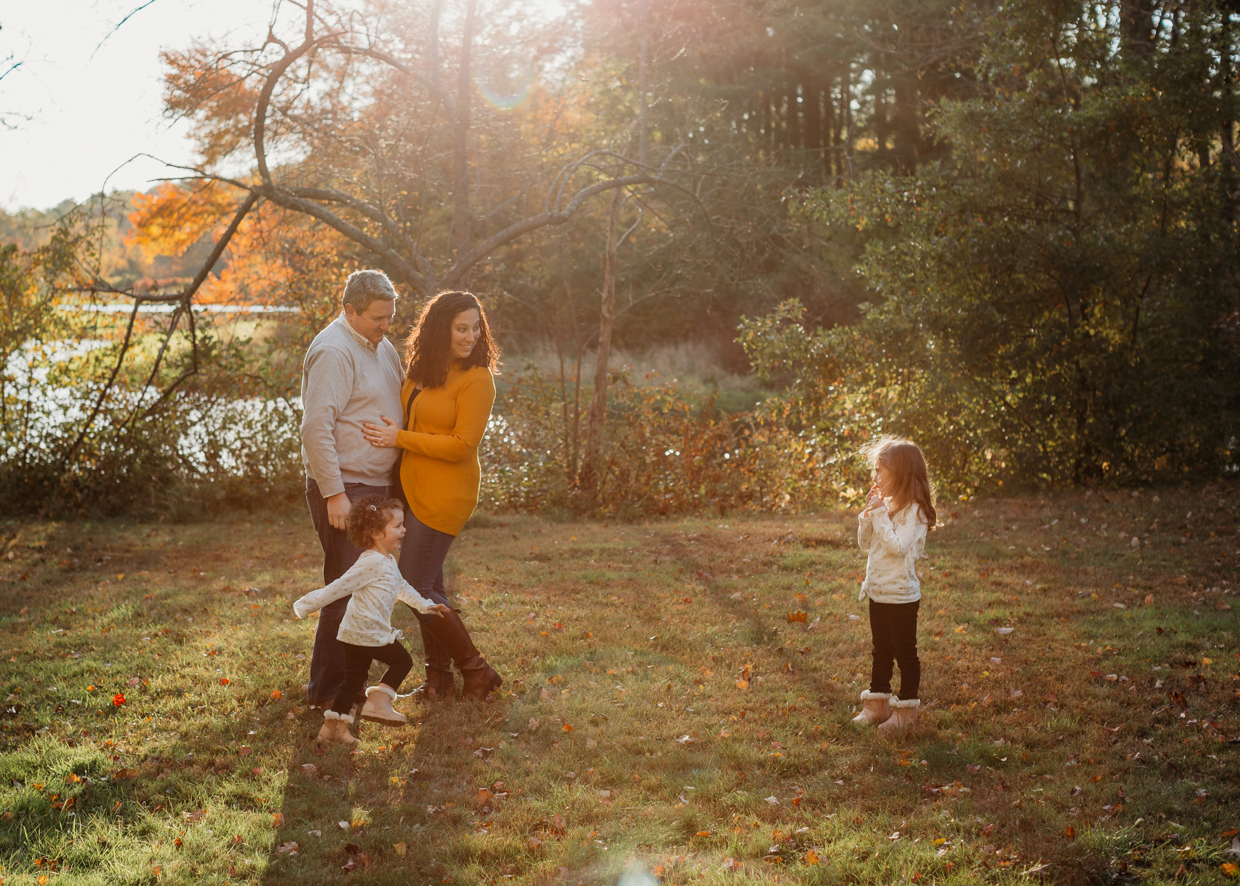 Does your child hate having their photo taken? The best tips for keeping anxious kids happy during family portraits. Boston family photographer Joy LeDuc.