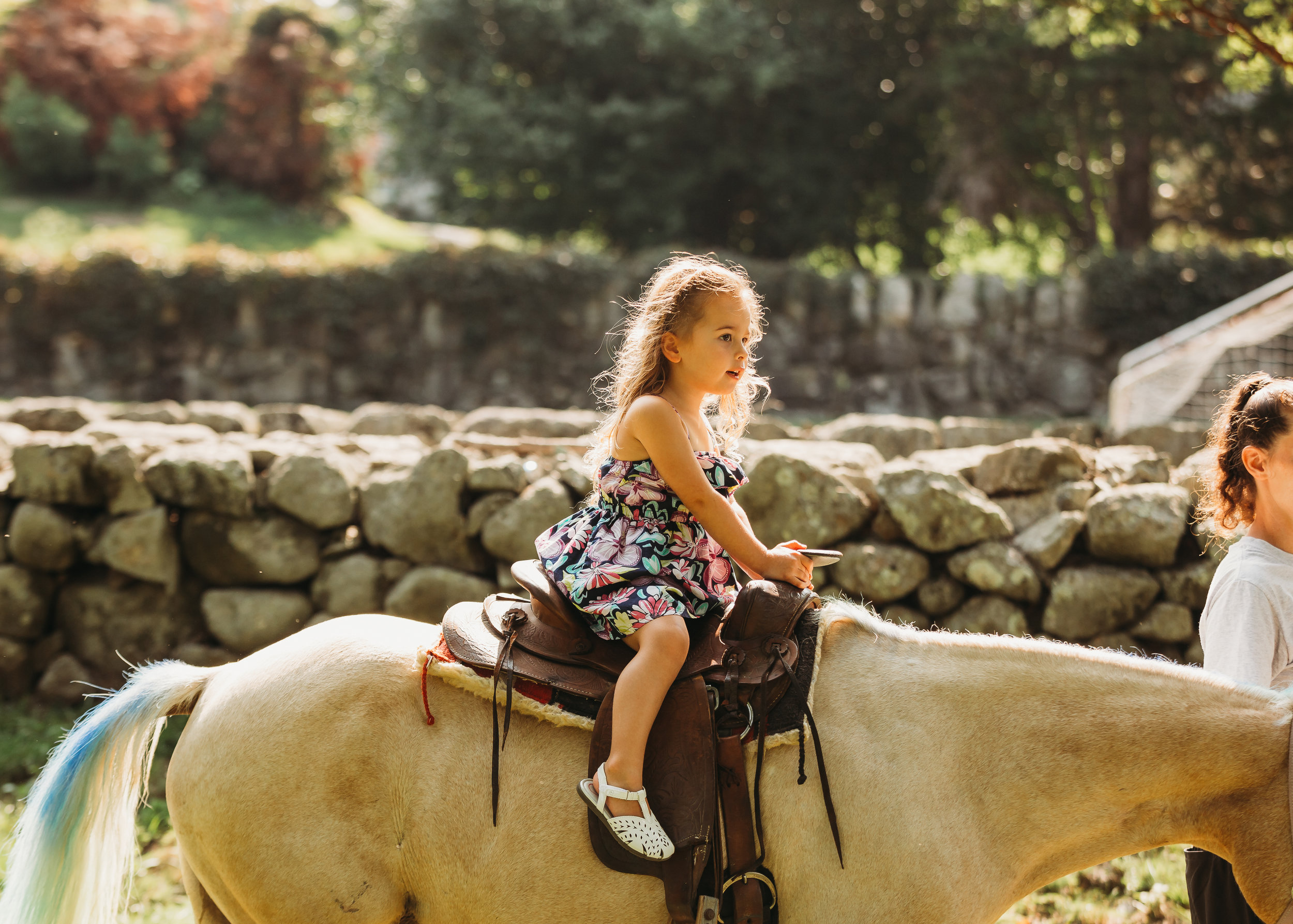 Pony Rides in Weston | Boston Family Event Photography