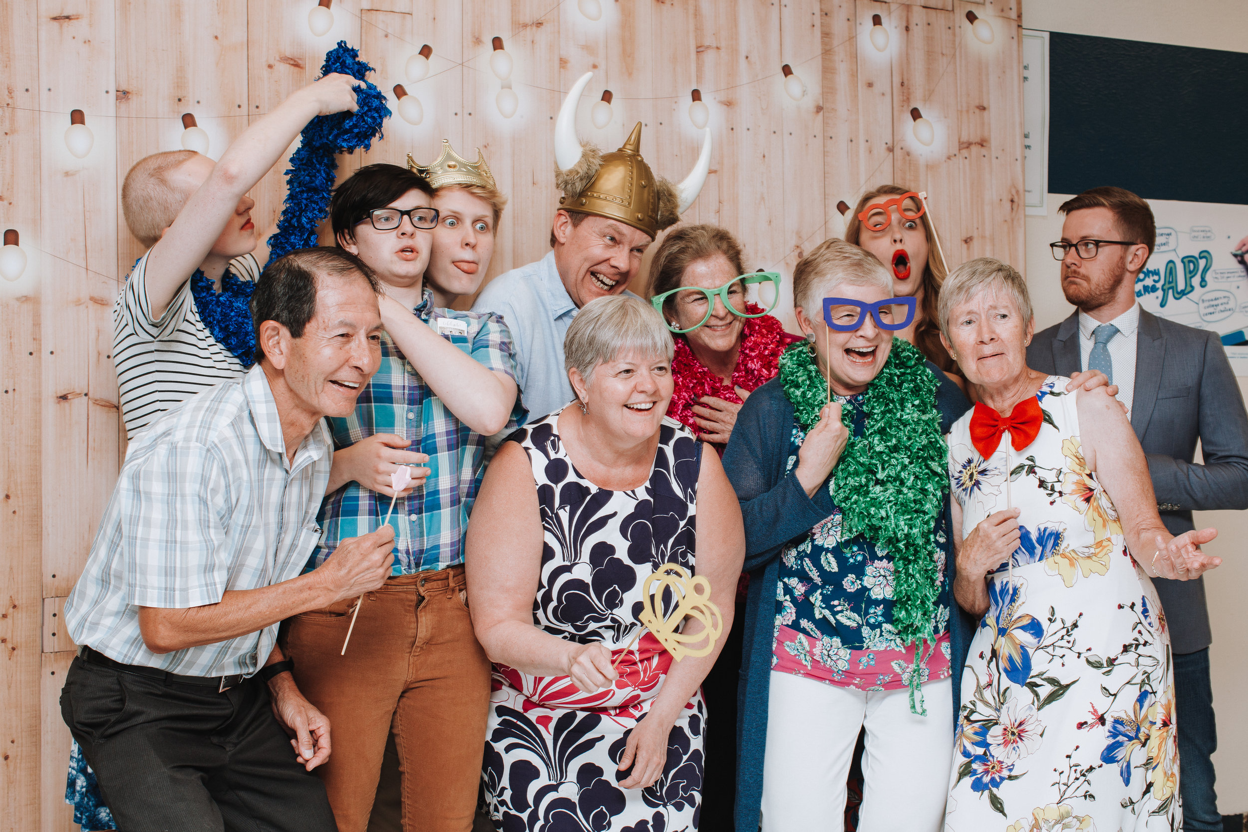 Photo Booth Family Reunion | Boston Family Photographer