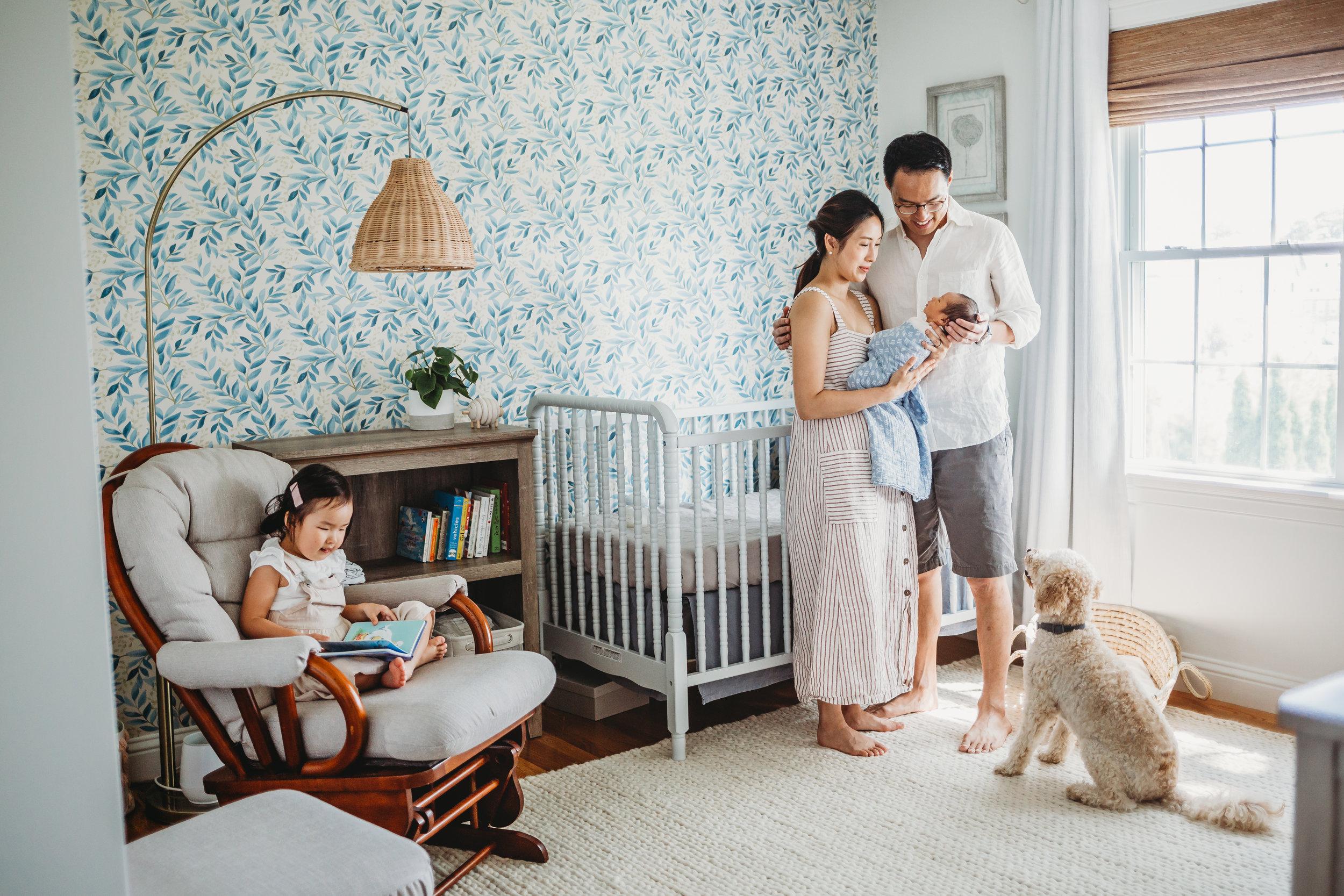 In-Home Newborn Photography Session in Framingham, Massachusetts