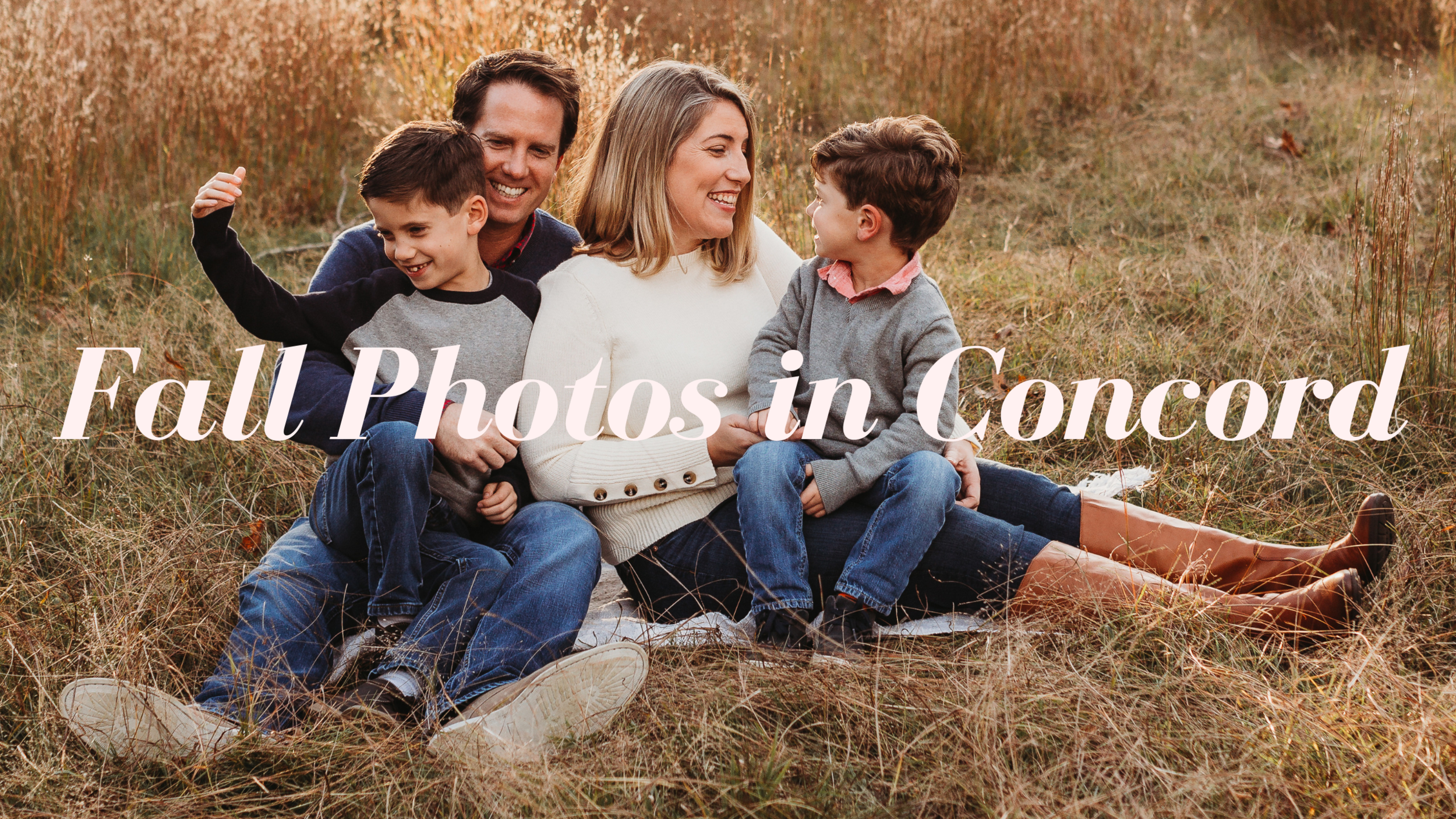 Massachusetts Family Photoshoot