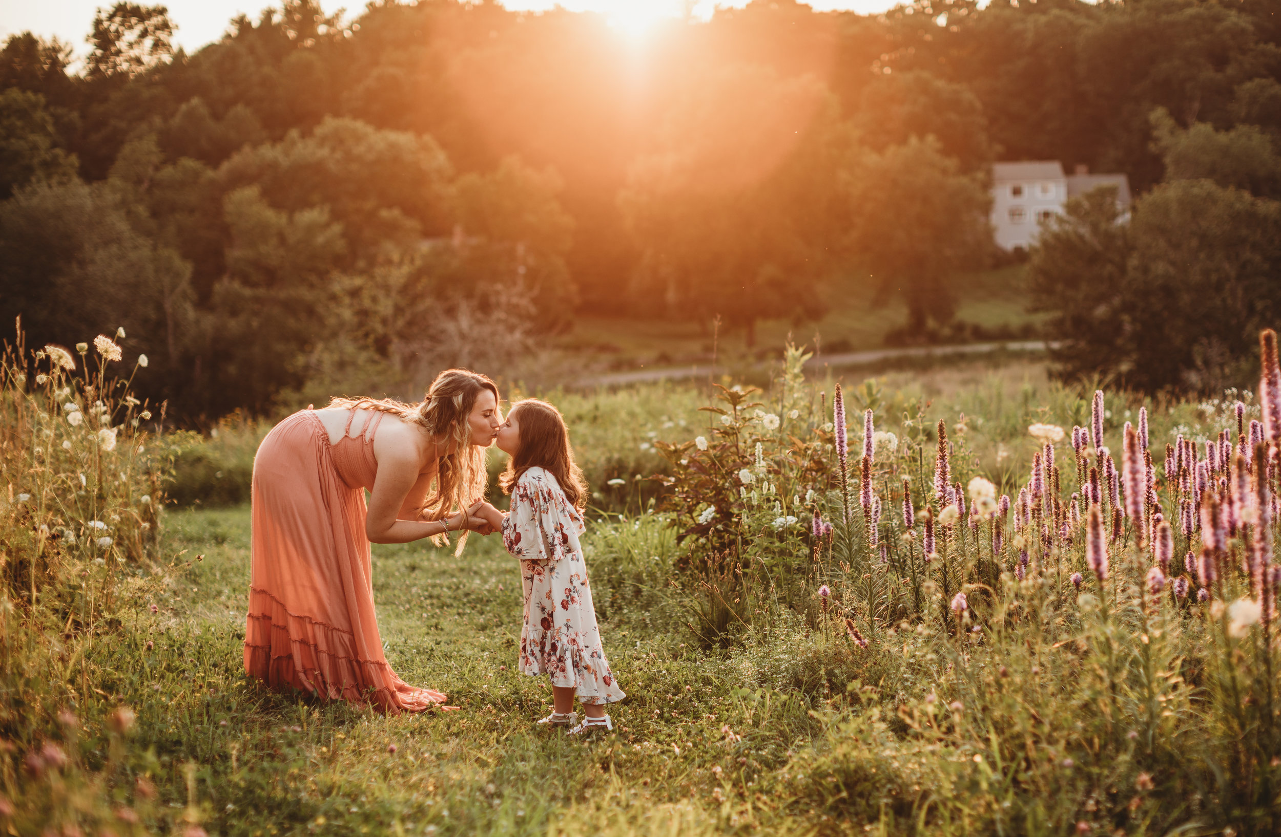 Mother Daughter Boho Summertime Session