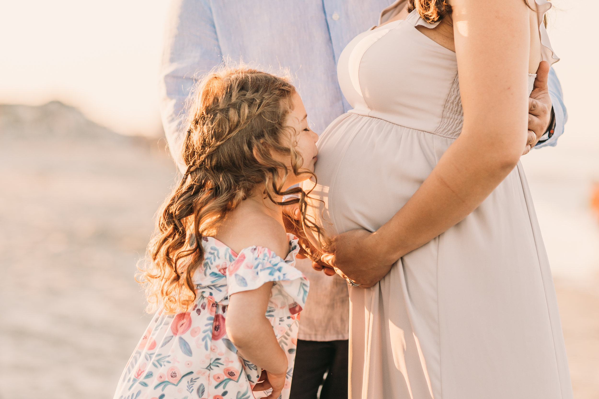 Family and Maternity Session in Scituate, Massachusetts