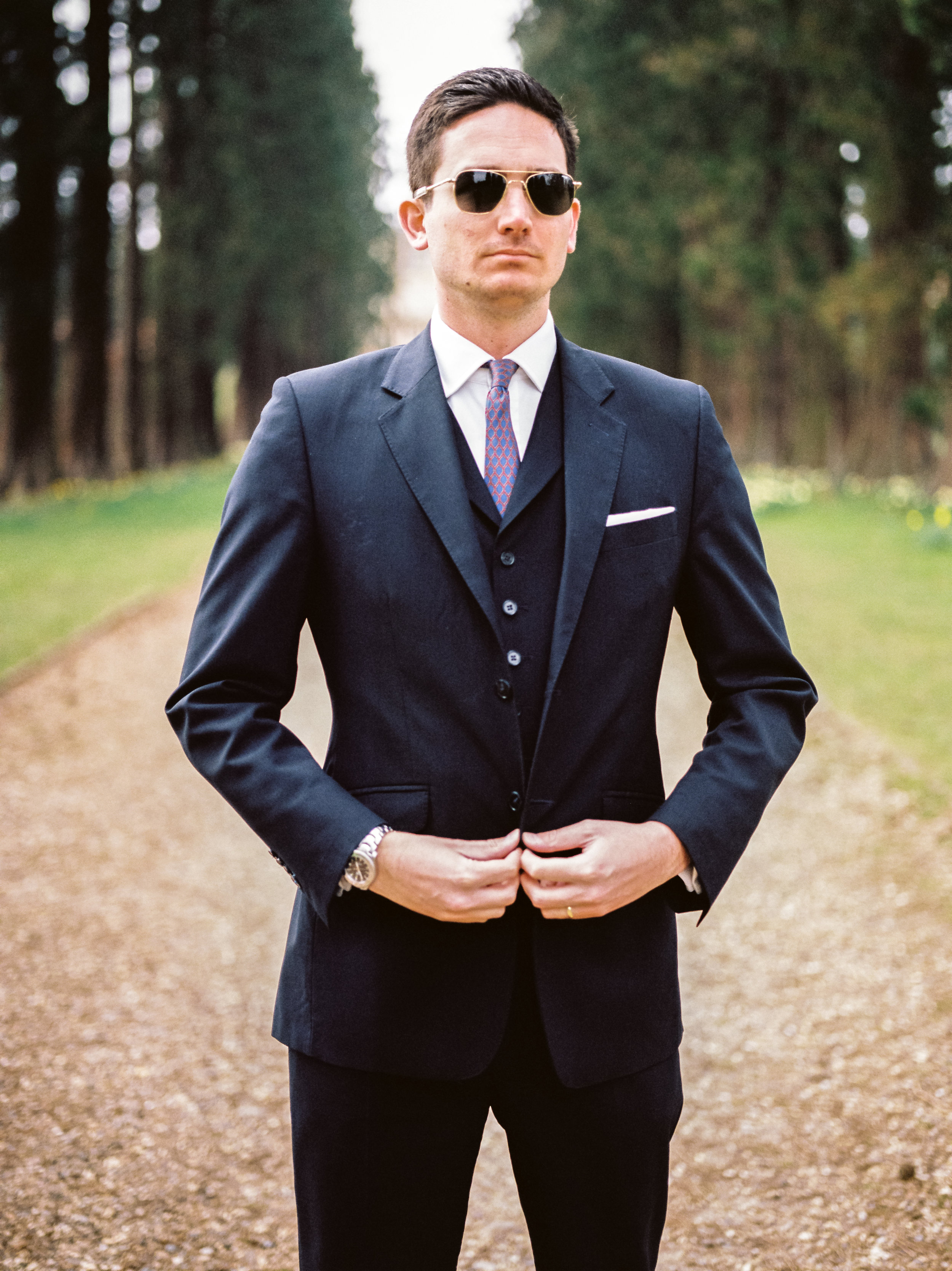Button Up - Modern Male Fashion Portrait