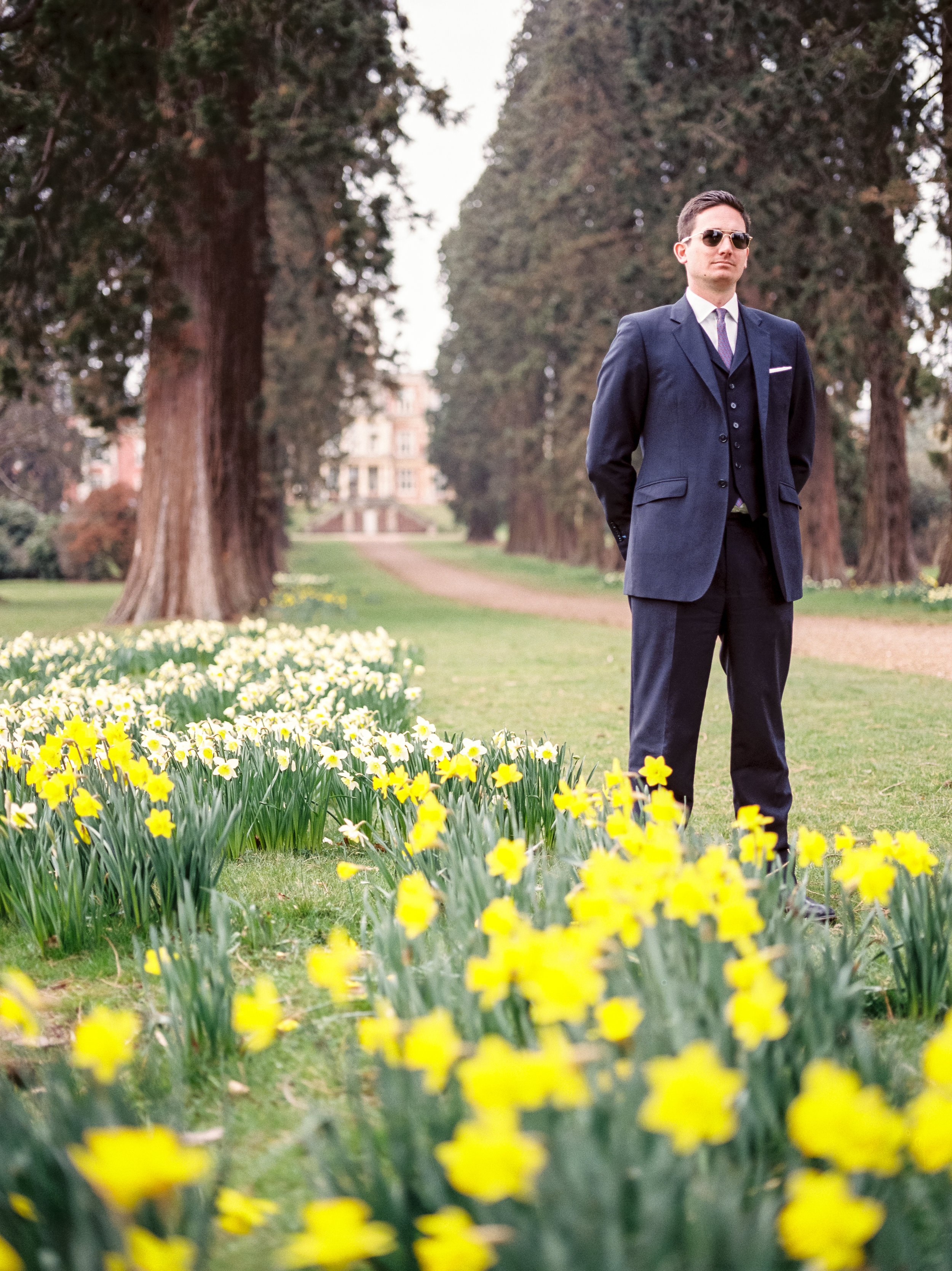 Exploring the grounds - Modern Male Fashion Portrait
