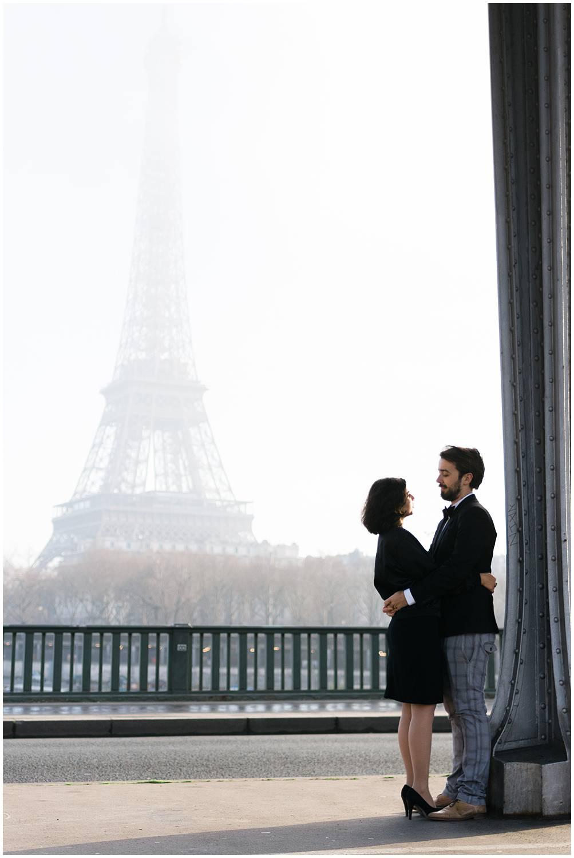 Engagement session Eiffel tower Paris