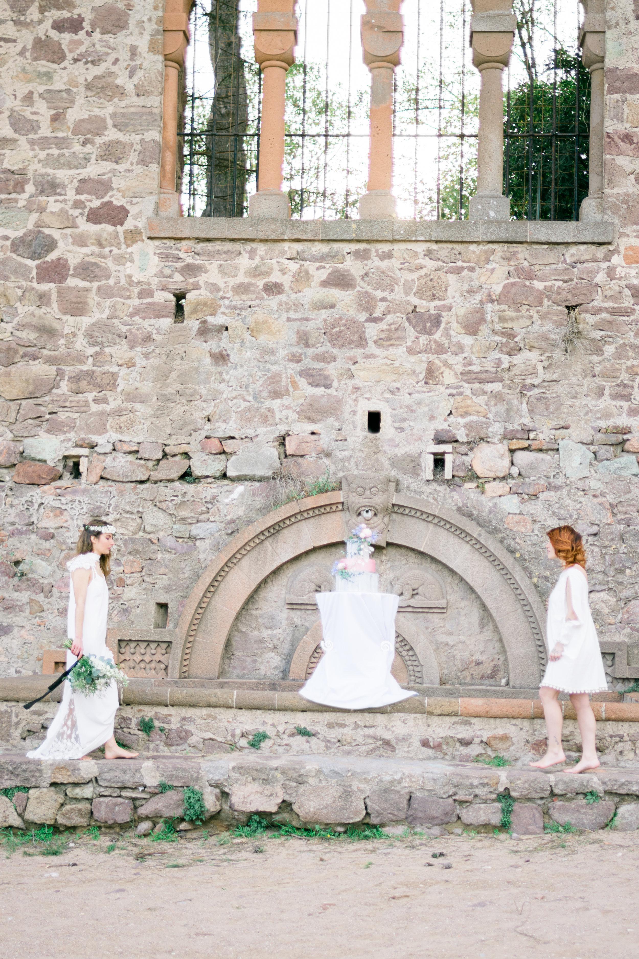 Unisex wedding chateau de la Napoule Provence