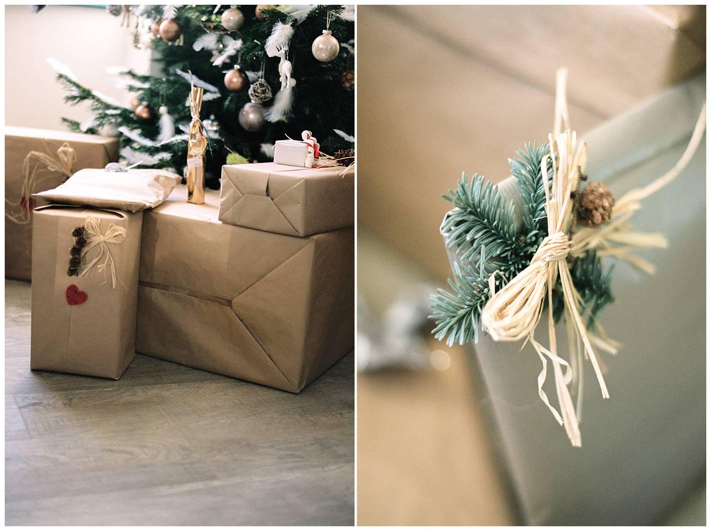 Christmas gift presentation