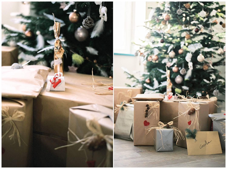 Christmas gift setup