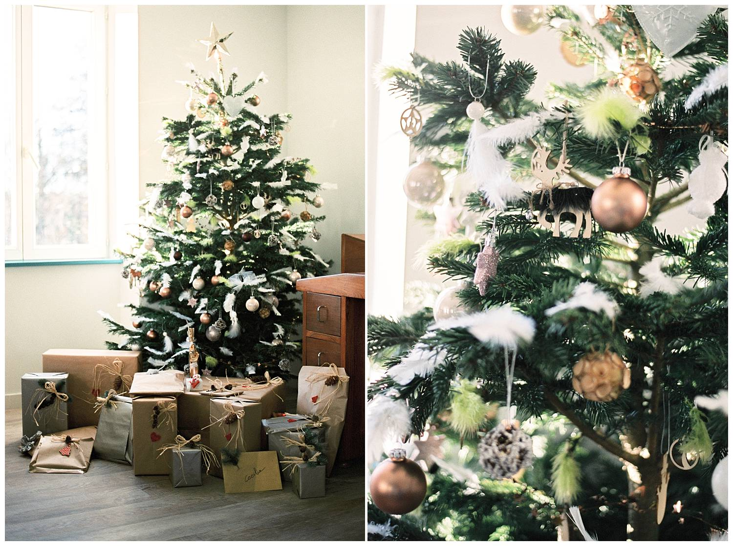 French Christmas tree inspiration