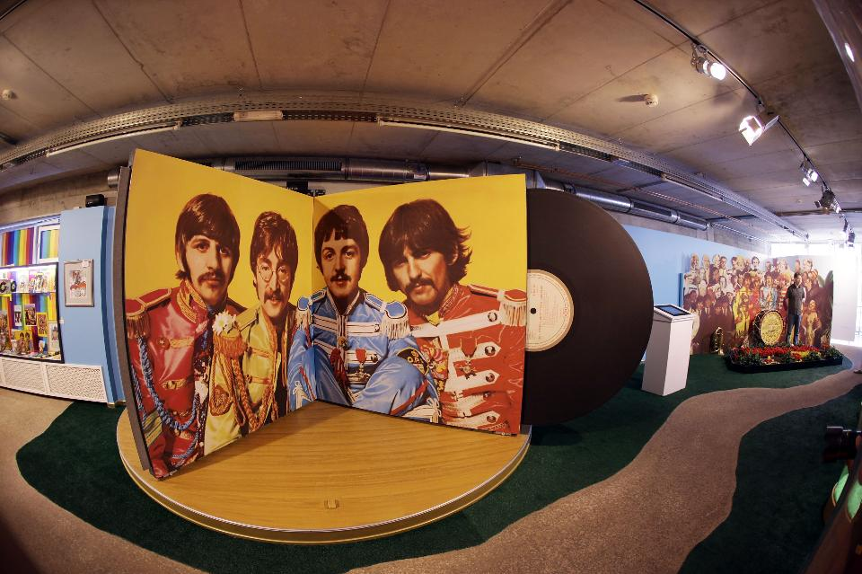 Sgt. Pepper created psychological distance.