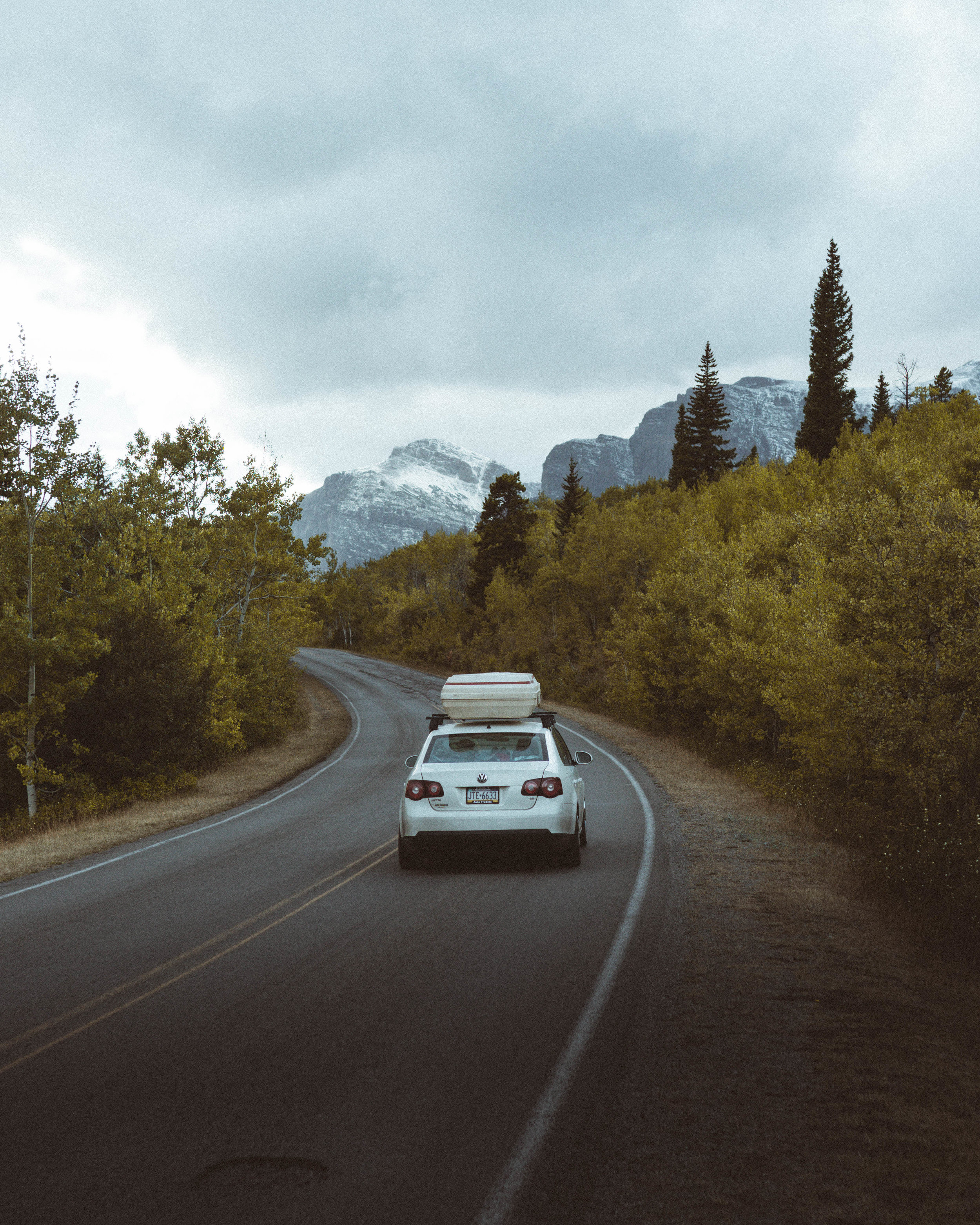 """All of these photos were taken on our first day in the park. Which we spent exploring as much of """"Going-to-the-Sun Road"""" as wasn't closed due to snow or fire. As well as setting up our camp in Many Glacier, a secluded and rugged area located in the North-Eastern corner of GNP."""