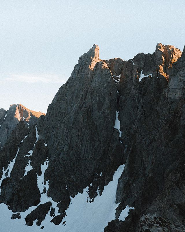 Last light in the cirque of the towers. Really thankful for life right now.