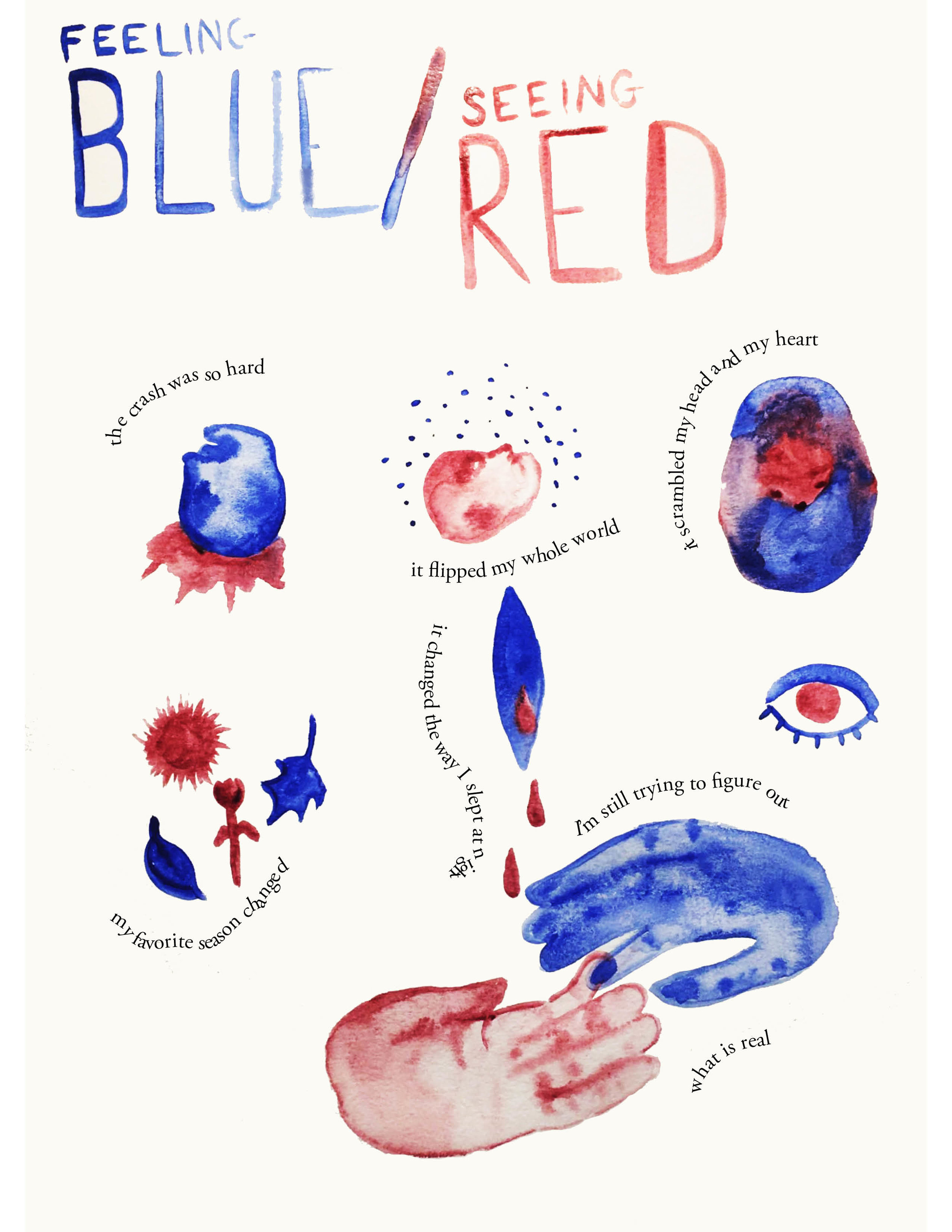 Feeling Blue / Seeing Red
