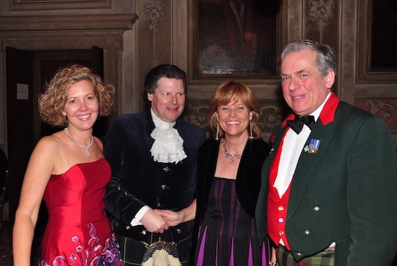 Dena Woodhams, Peter Forrester of the Argyllshire Gathering, Donata Grimani, our local partner in Venice and Mark Tennant.