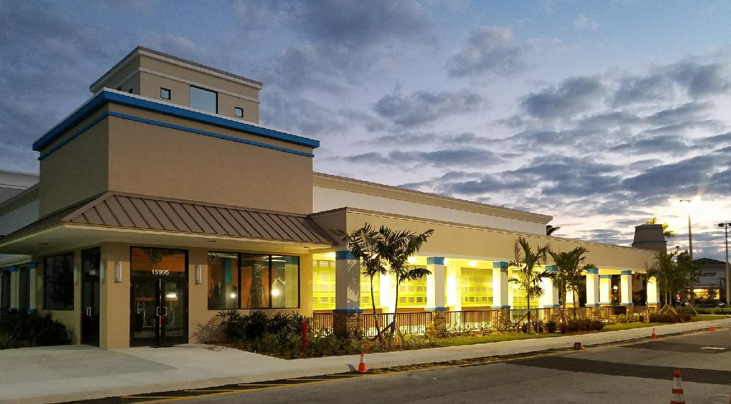 DC Construction Associates, Inc. just recently completed the shell on this new Pembroke Pines Cabo Flats location at 15997 Pines Boulevard and now making progress with the interior.  Stay tuned for more updates...