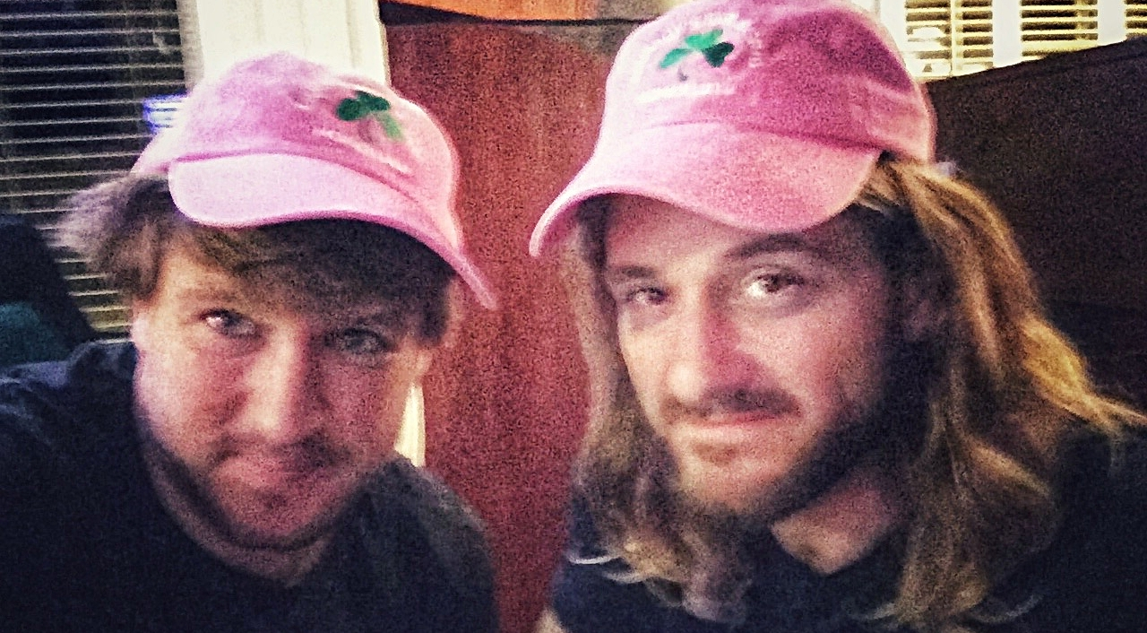 Stylish hats – a parting gift from Murphy himself!