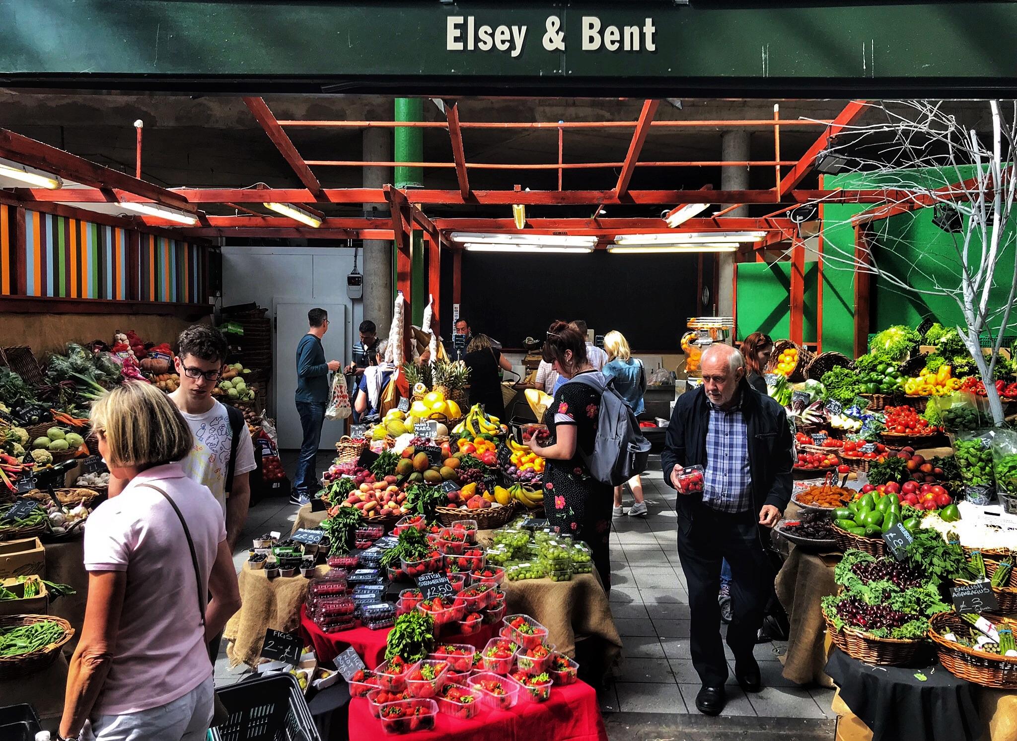 A proper London market!