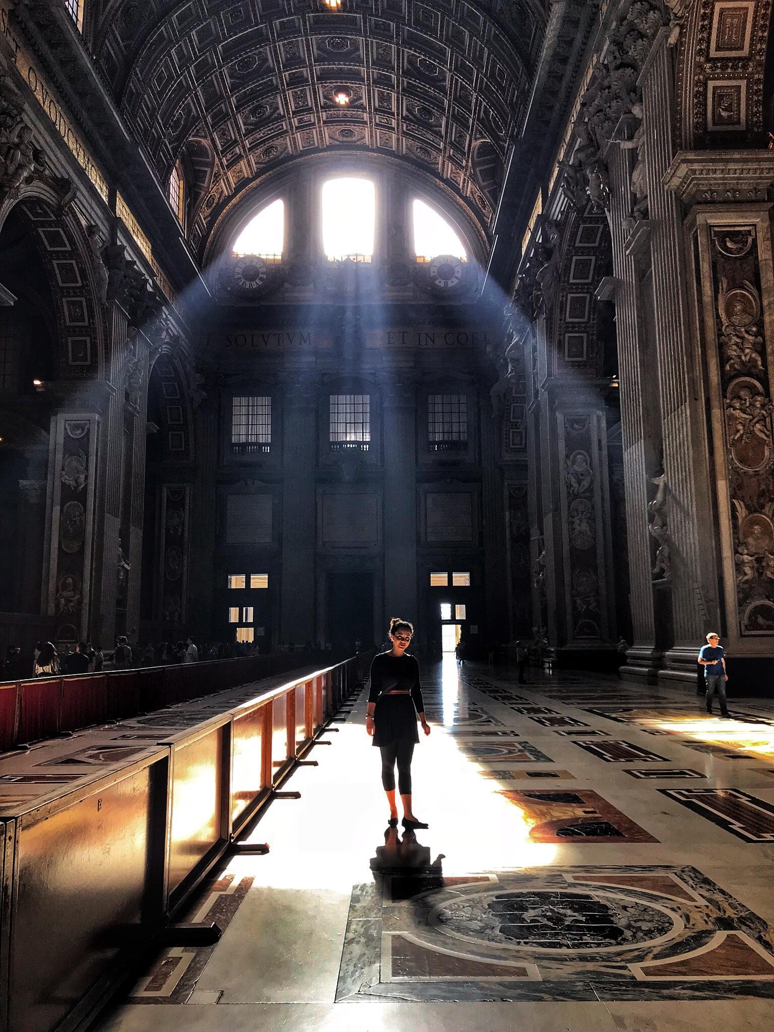 Lena finding her light...