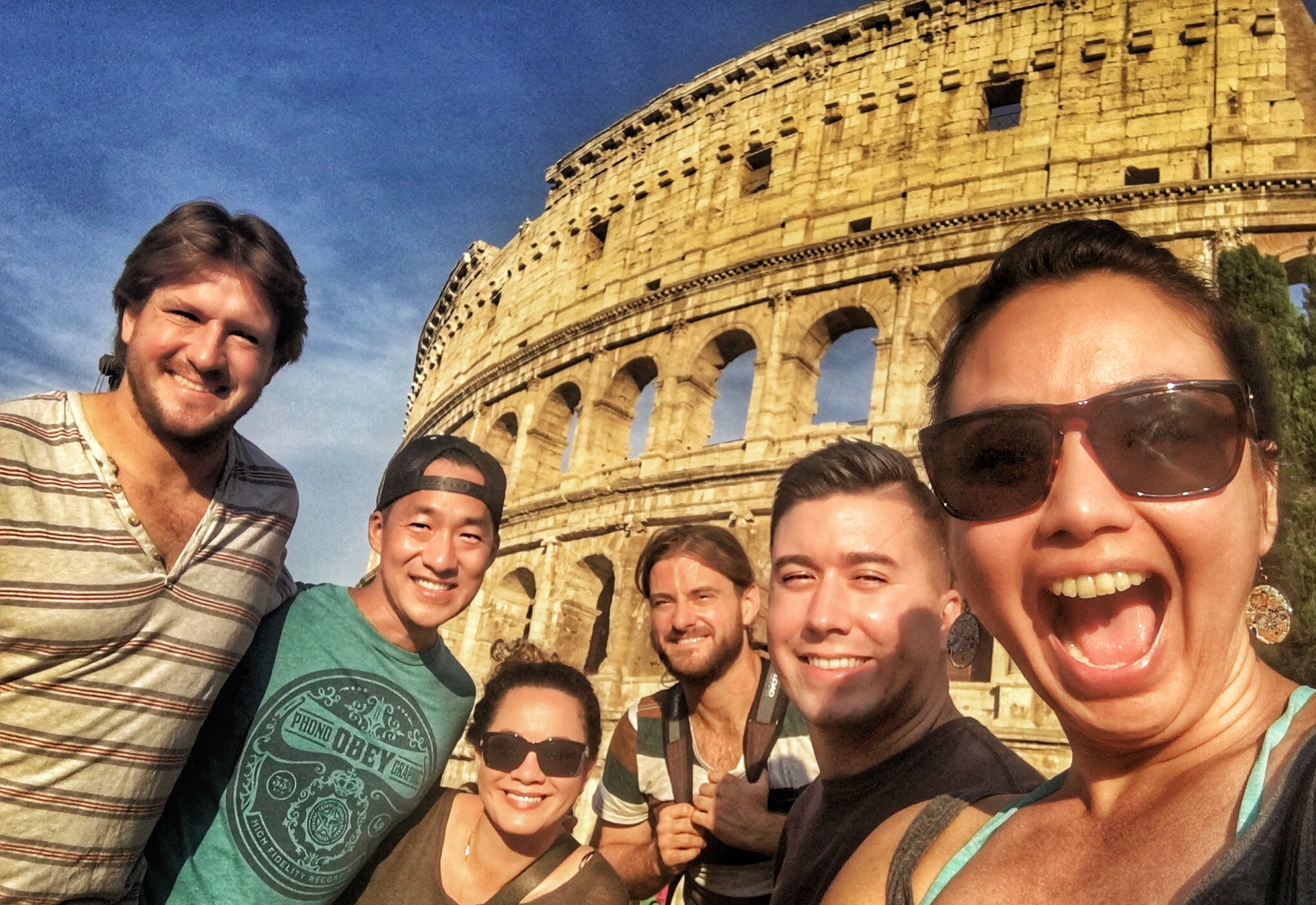 We finally found the Colosseum! Yay! Now we can finally head back home!