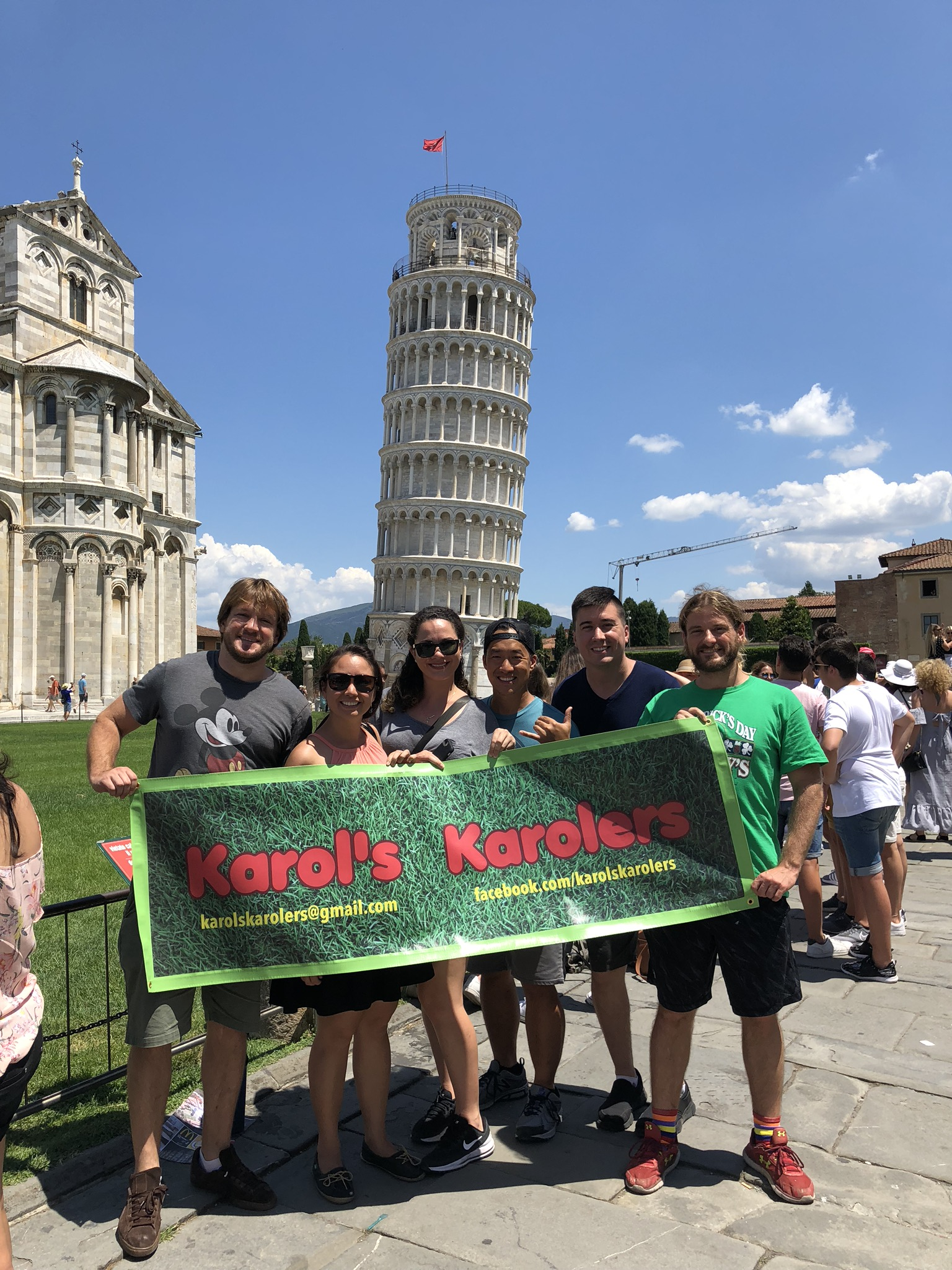 We made it to Pisa!
