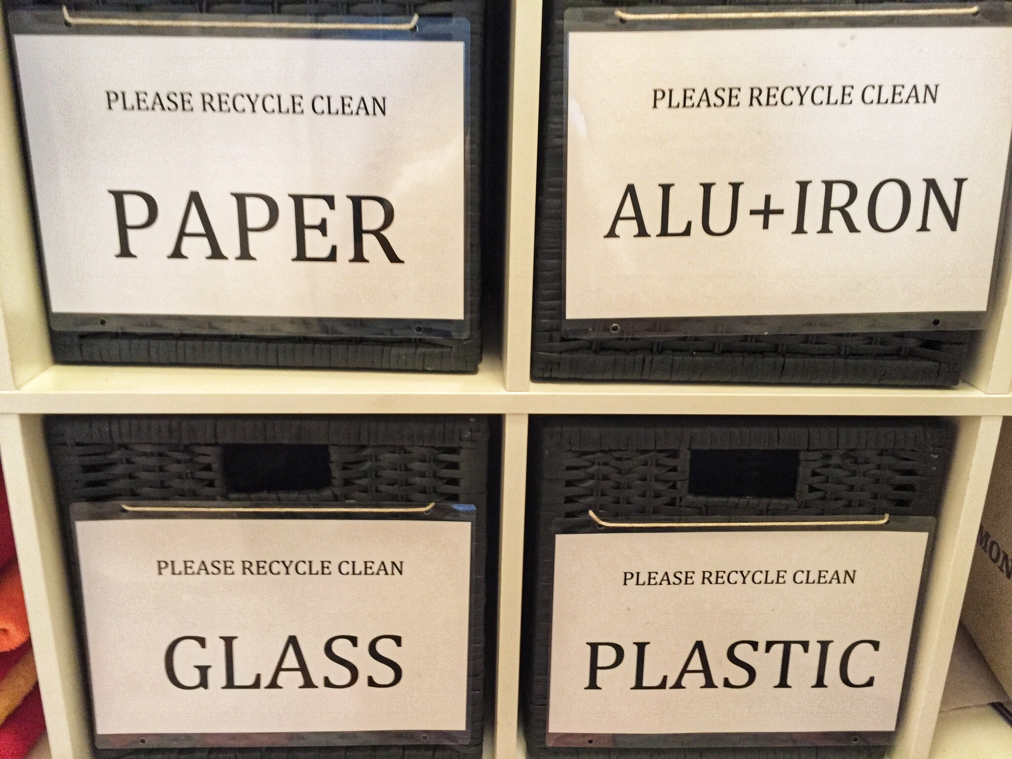 The Swiss are serious about recycling!