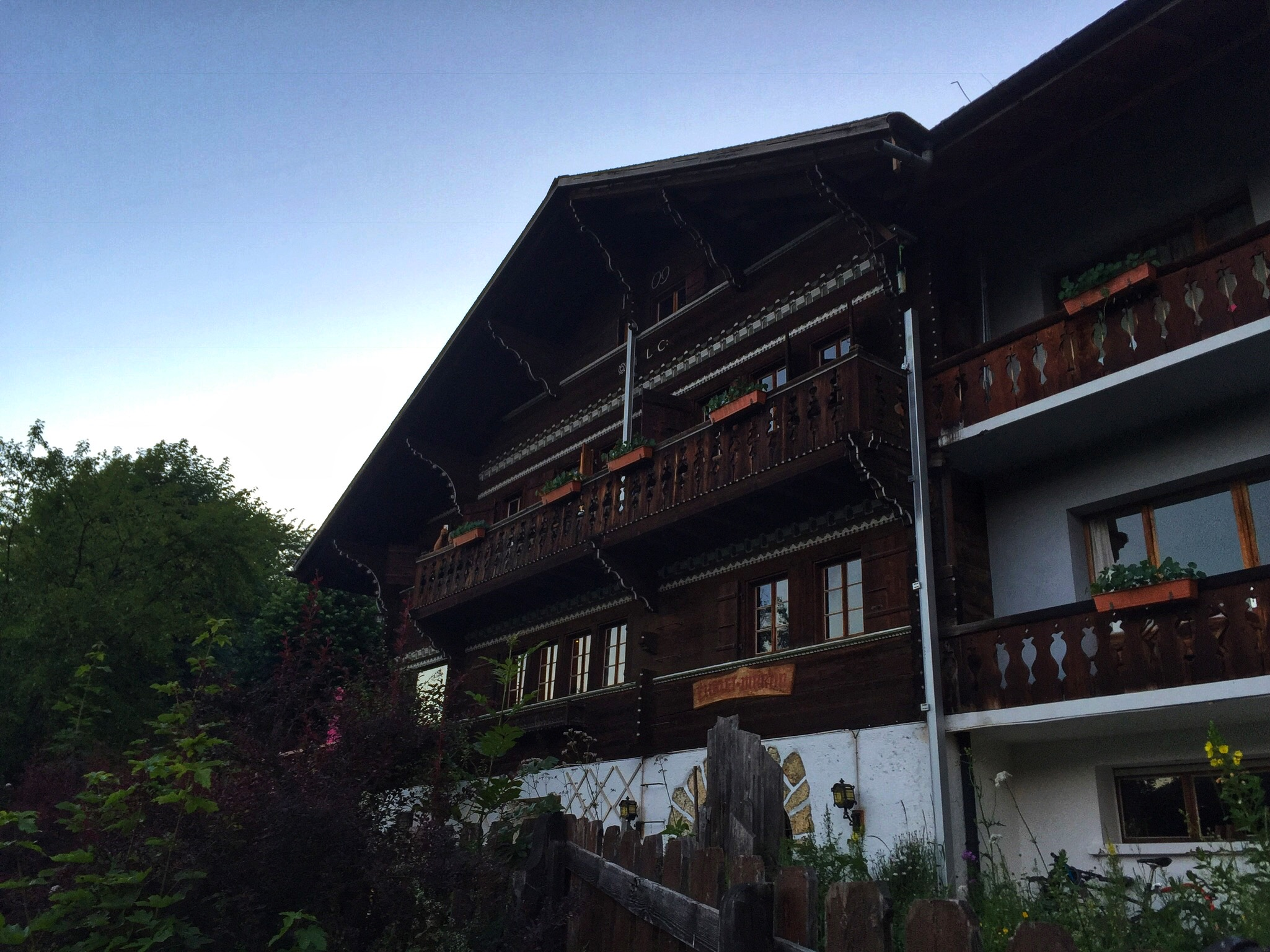 View of the chalet.