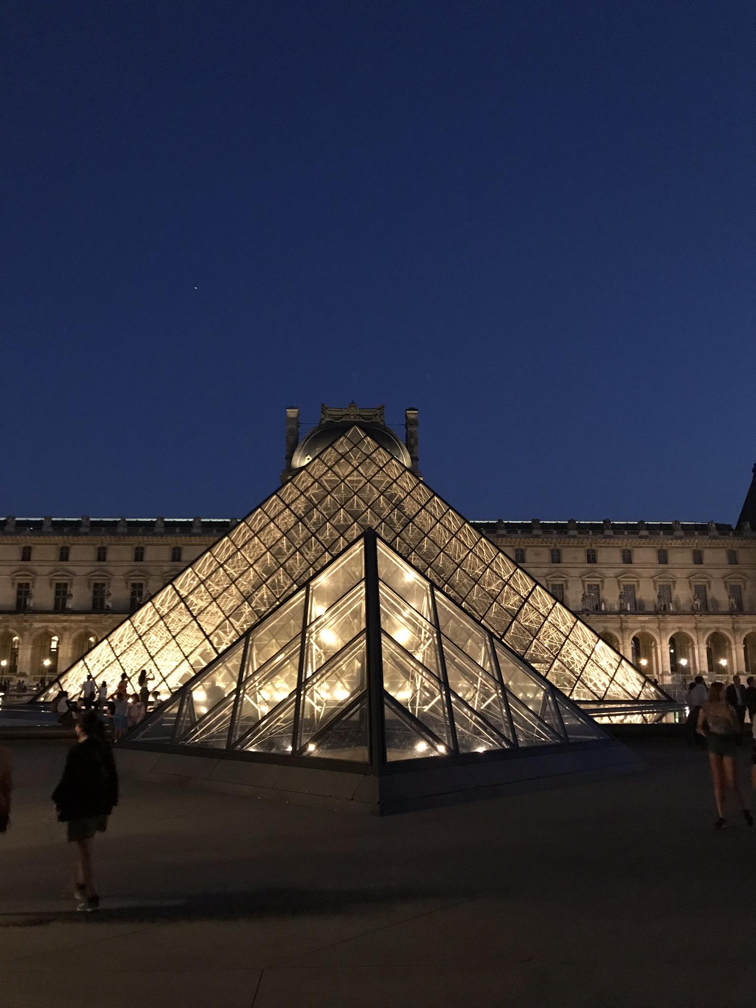 A Pyramid!