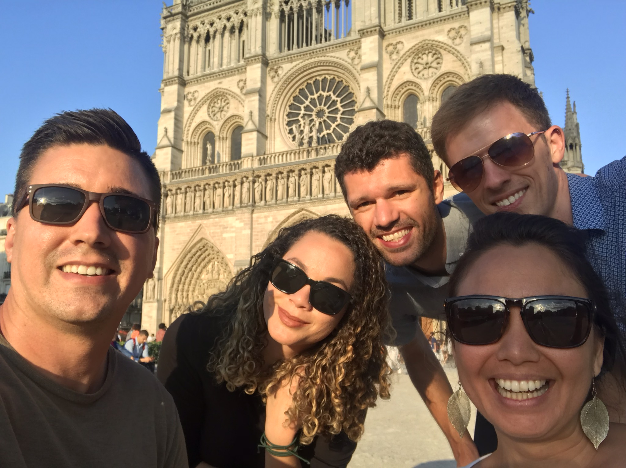 Notre-Dame before the concert!