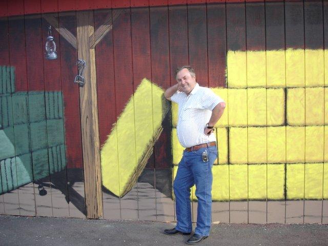 Western Mural Wagon Wheel Restaurant exterior Santee California 16.jpg