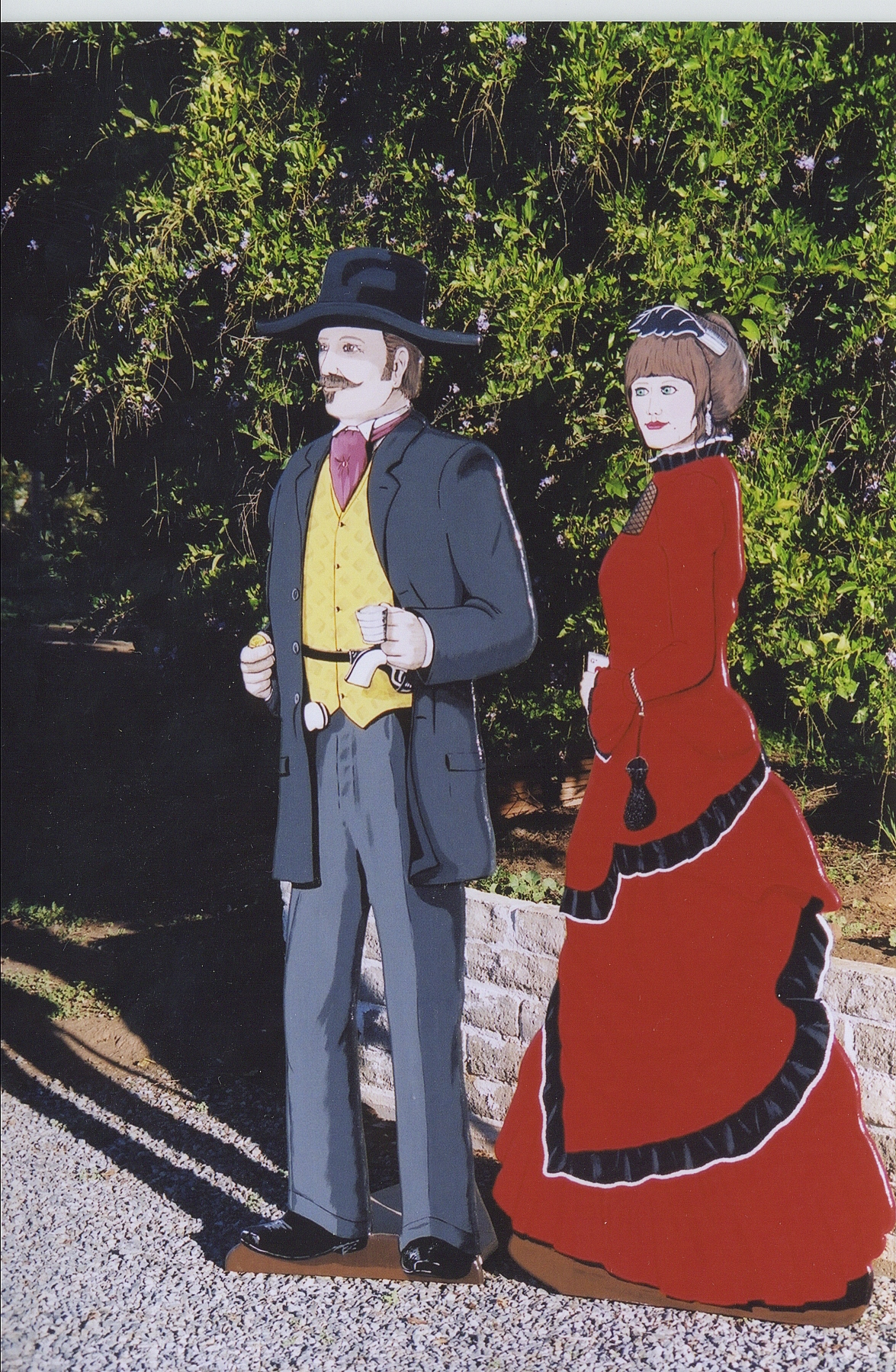 Lifesizecutout_western woman and western man valleycenterjuniorhigh.JPG