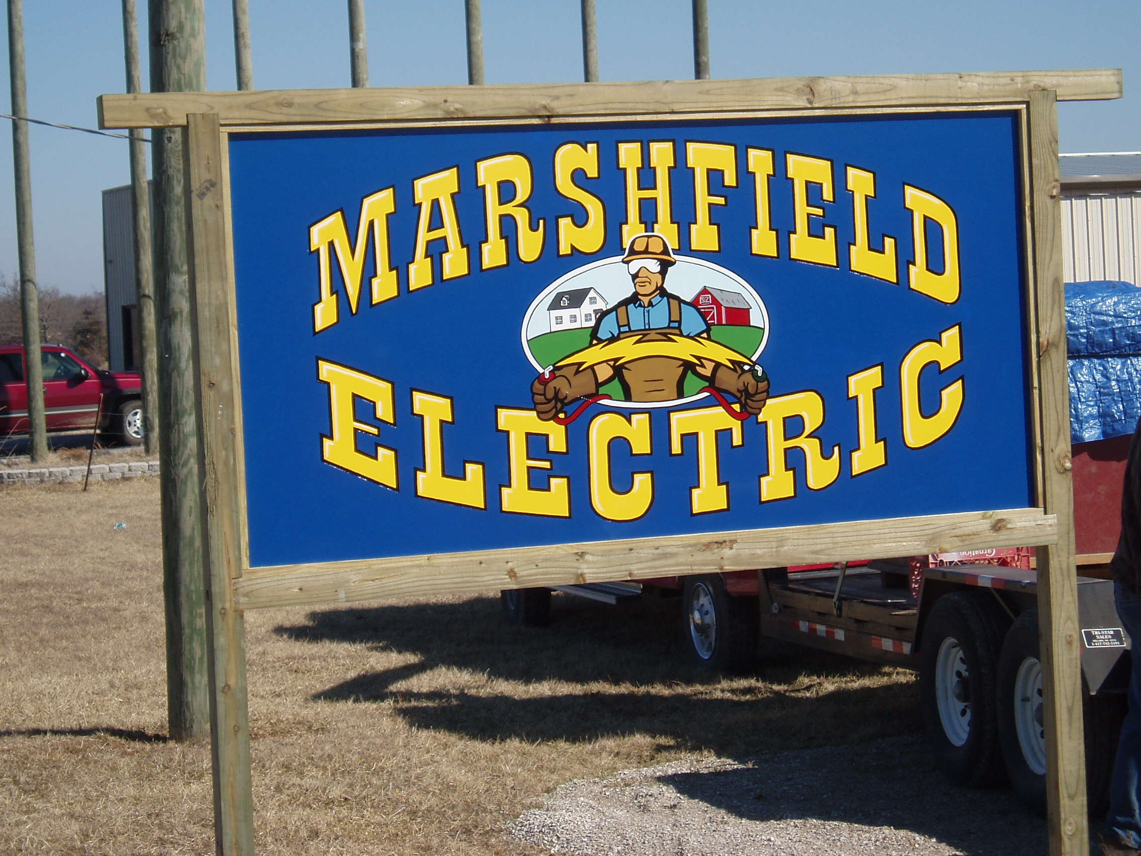 Hand Painted Signs_Marshfield Electric.JPG