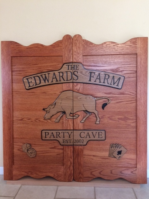 Western Saloon Door Party Cave Door