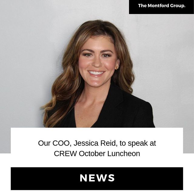 Please join CREW Luncheon this month as our COO, Jessica Reid talks all things Montford and our exciting hotel projects in Charleston!