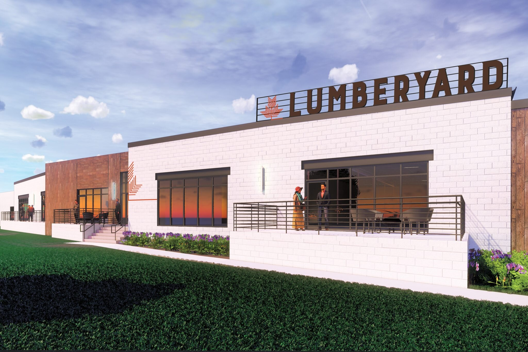 Offices at the Lumberyard in the Warehouse District