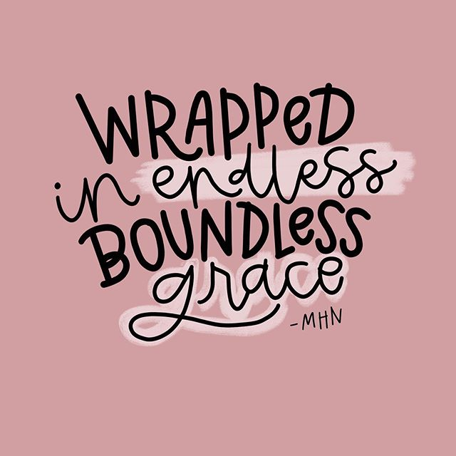 The quote says it all! Our God loves us and is always there for us when we fall 💕 #graceoverperfection • Design made in Procreate Quote by: Morgan Harper Nichols . . . . #ipadlettering #heartfeltlettering #morganharpernichols #handlettering #quotestoliveby