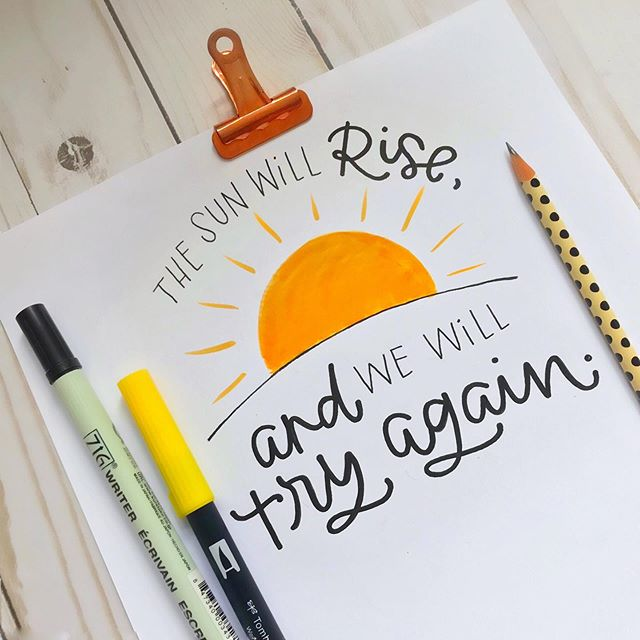 Happy Sunday ☀️ hope you have the most amazing day! . . . . . #heartfeltlettering #thedashingletters #creativepreneur #iamenough #handlettering
