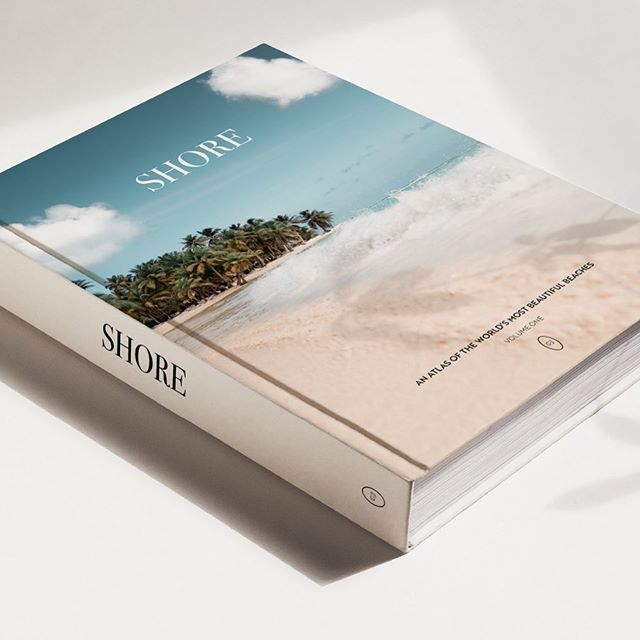 ✱ A nod to #wanderlustwednesday and all the beautiful beaches of the world with this paradise book cover design for the marvellous printing experts @yelobric ✨ Wish I could say I'd been somewhere totally tropical today but I've just been working from my desk on some not so exciting (but essential) Squarespace custom code.  Have you been anywhere far away today or just a normal working Wednesday like me? I'd love to know! 🐚