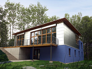 Waldsee BioHaus Environmental Living Center - The BioHaus is part of a larger effort by Concordia Language Villages and Germany's Deutsche Bundesstiftung Umwelt, Europe's largest environmental foundation, to create a