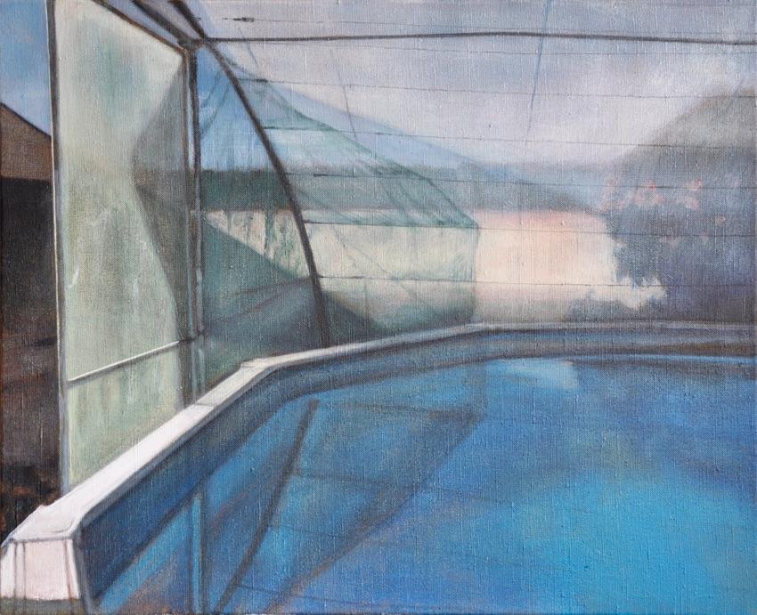 swimming pool III, 2015