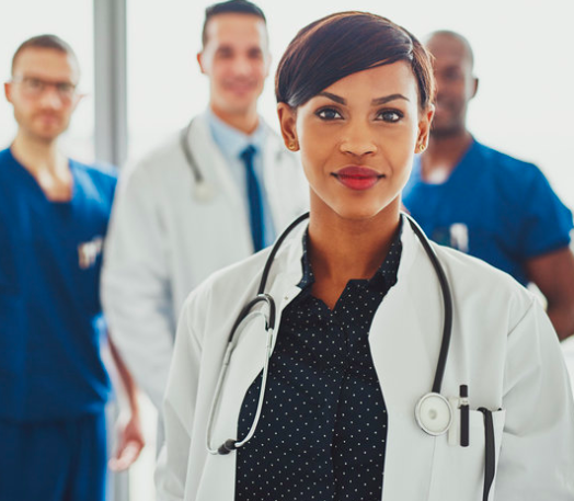 Paging Female Doctors -