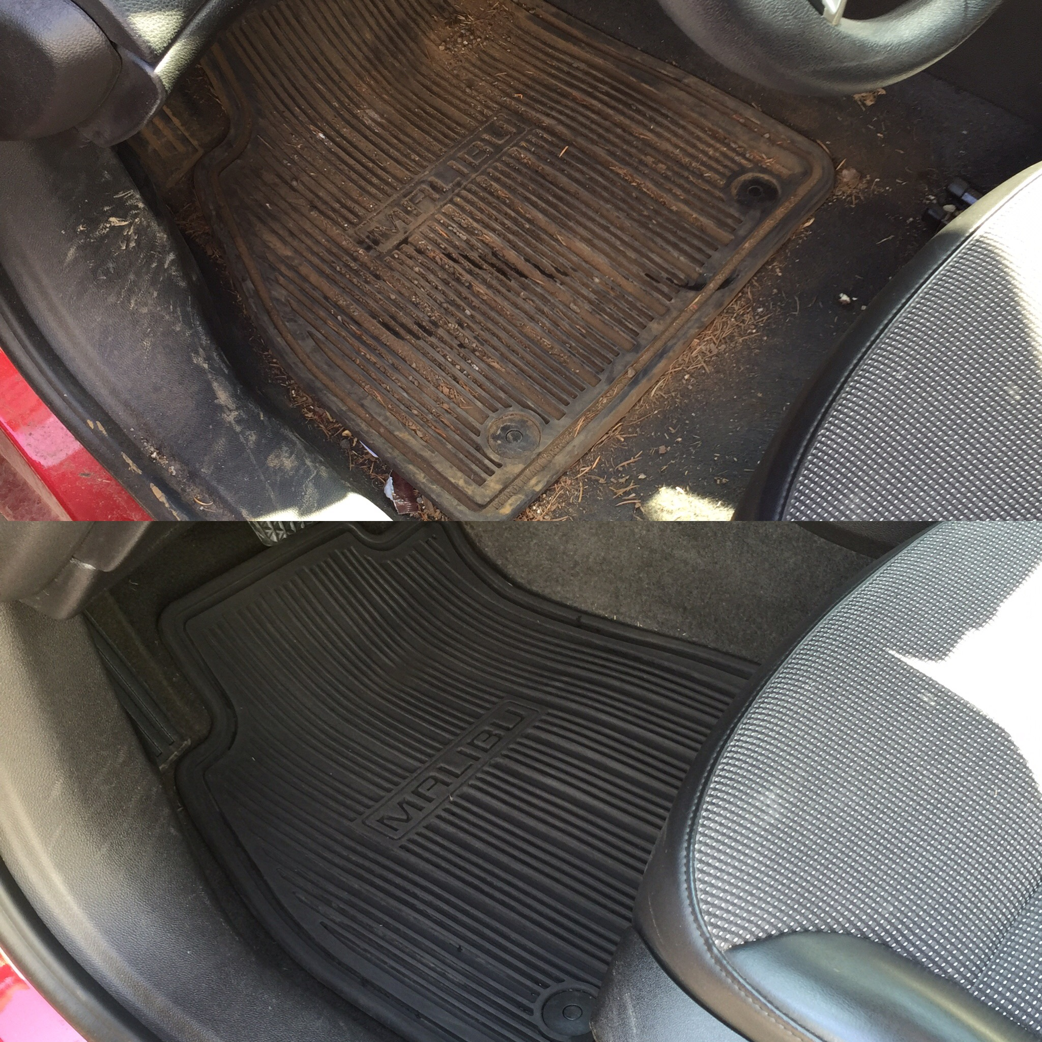 auto detail before and after