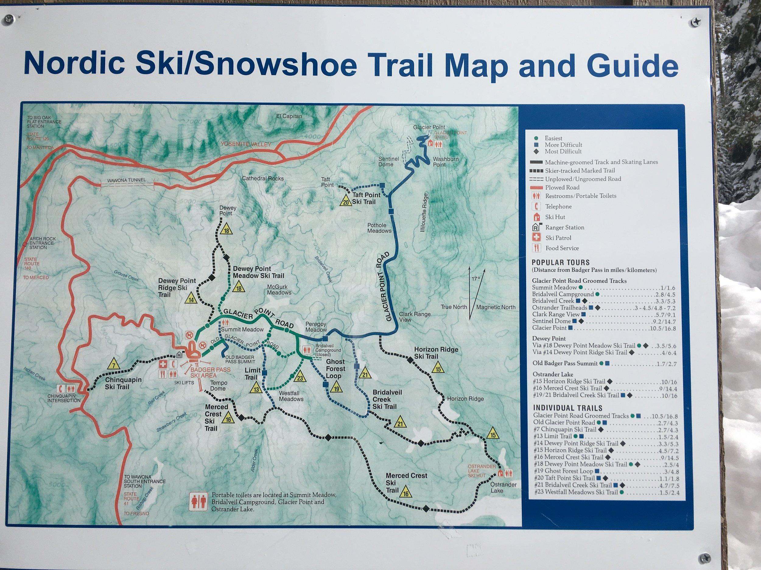 So many trails!