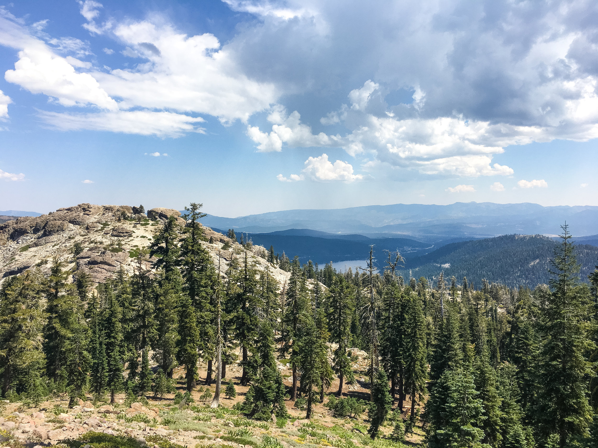 Donner Peak, to the left