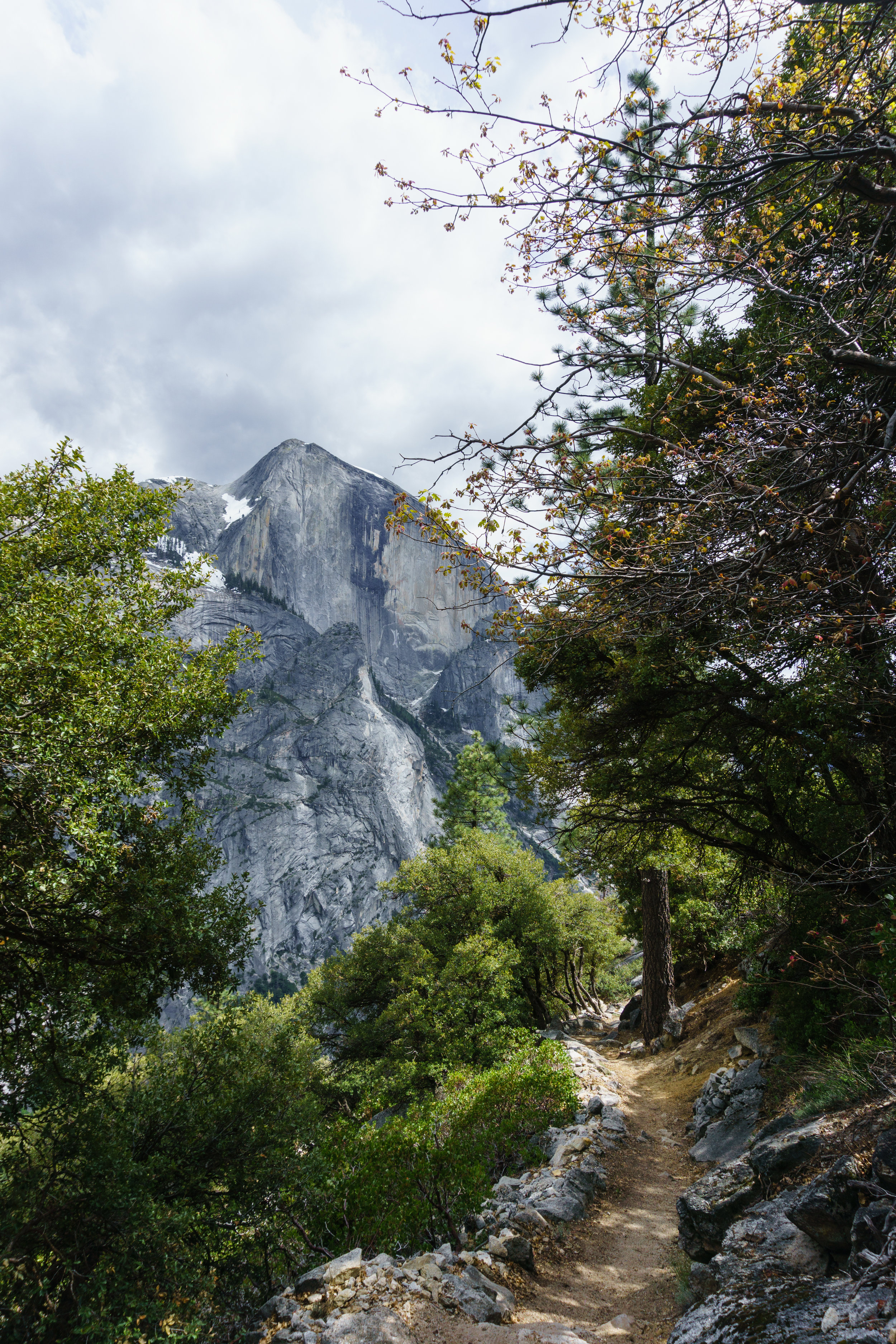 Half Dome from the Snow Creek trail