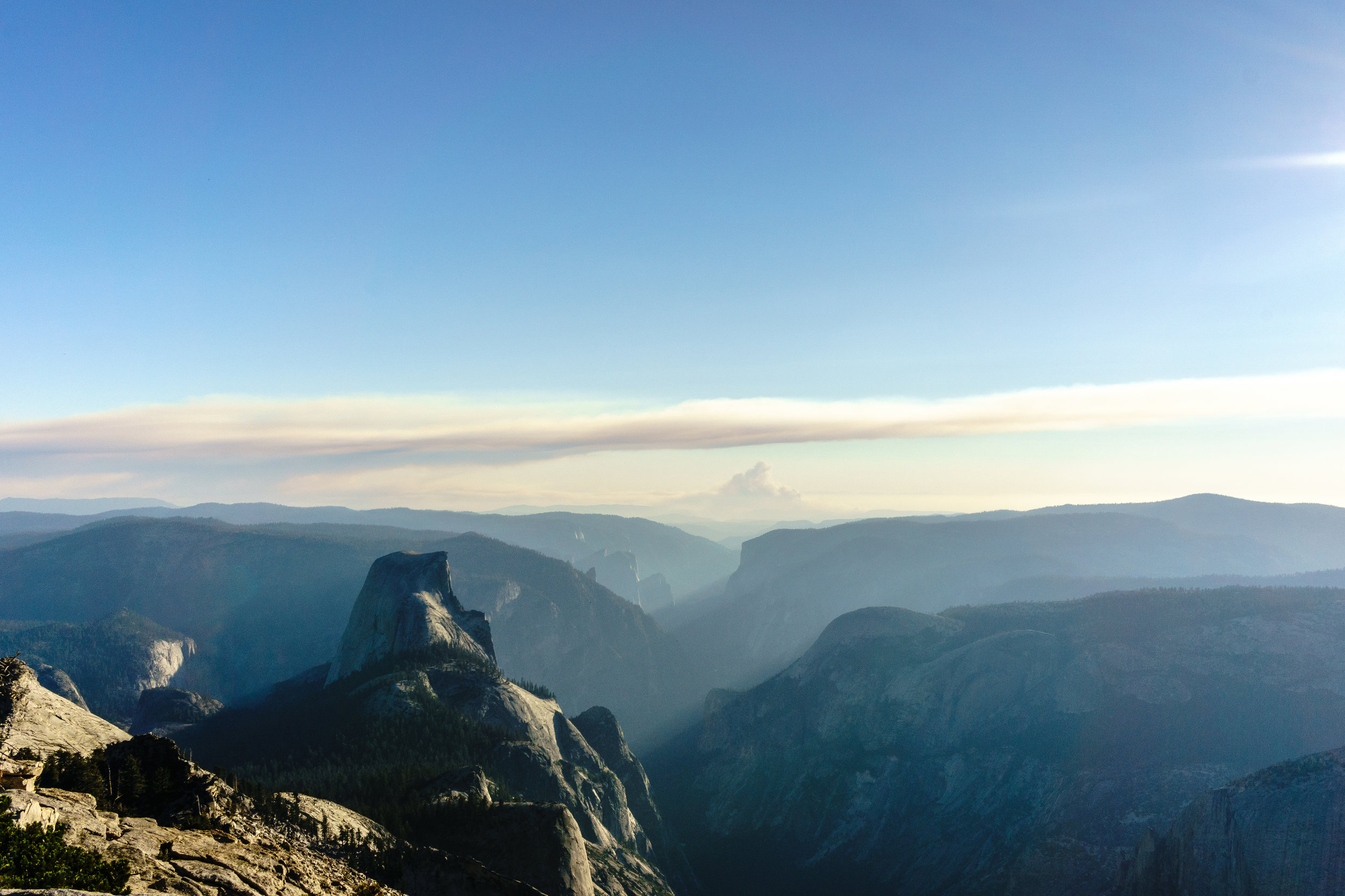 Half Dome as seen from Cloud's Rest