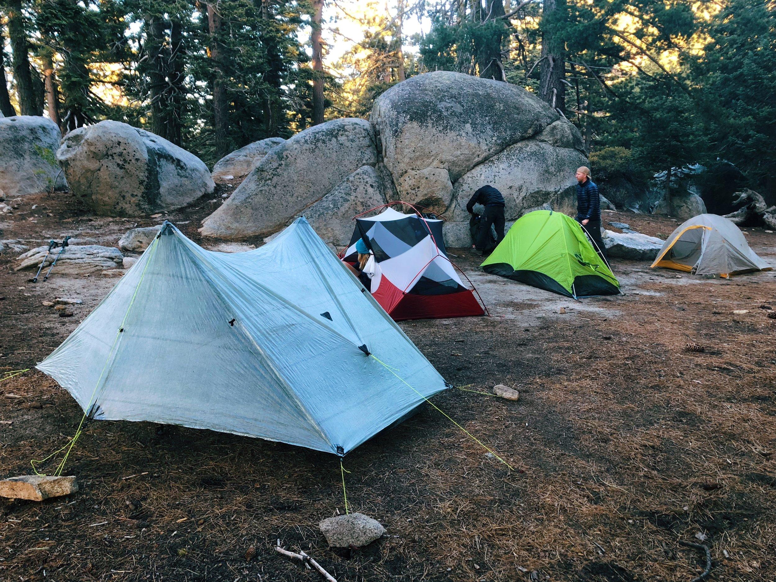 Such a pretty tent