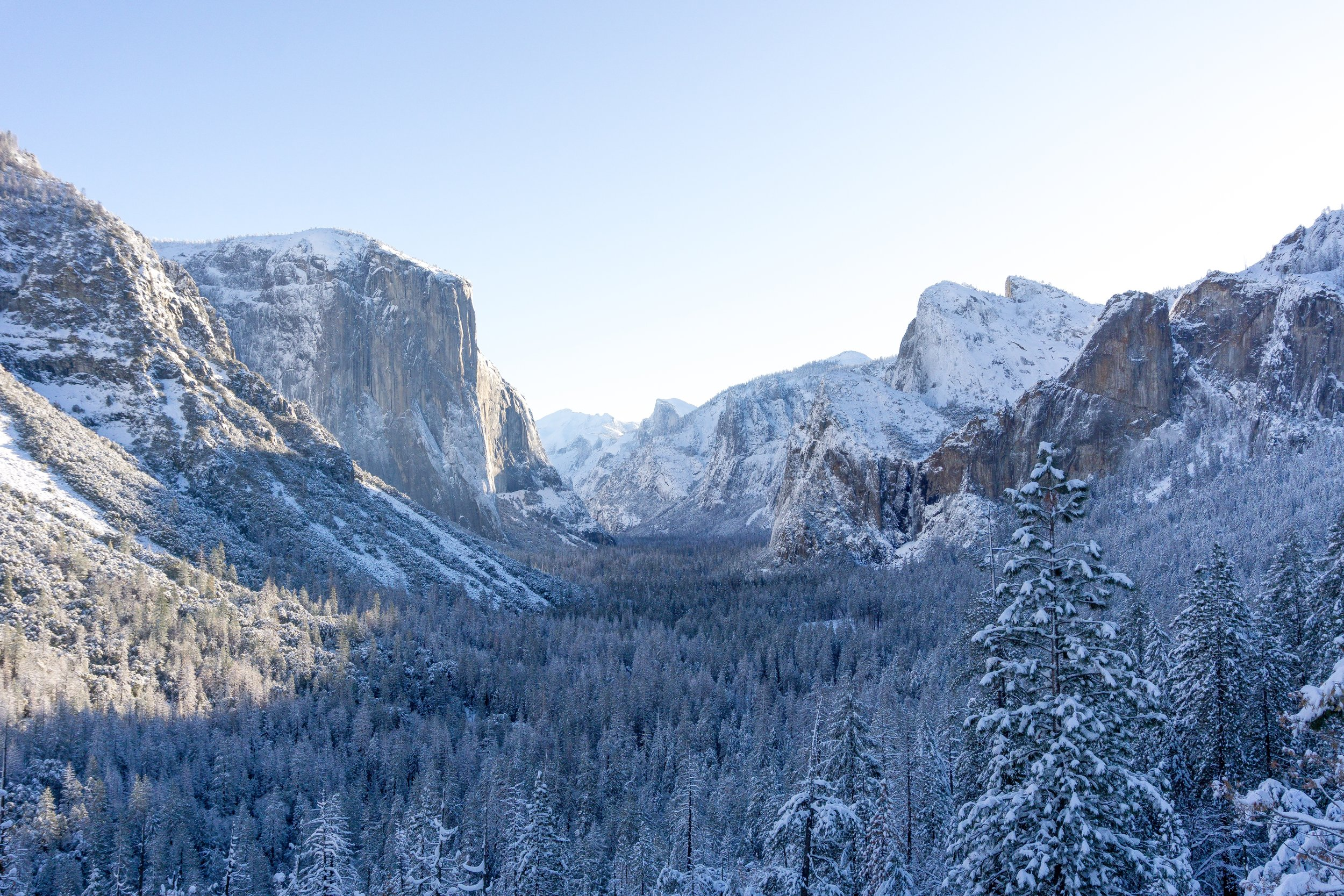 yosemite valley - Winter 2018