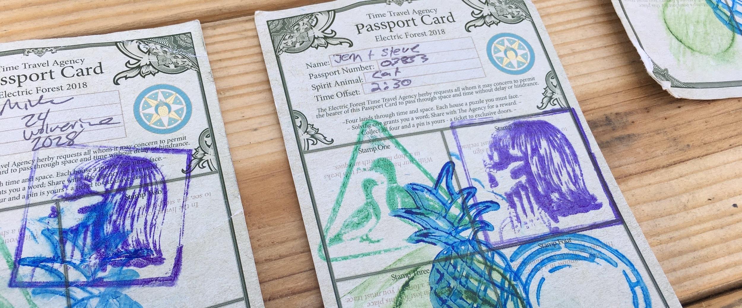 Passport Puzzle -